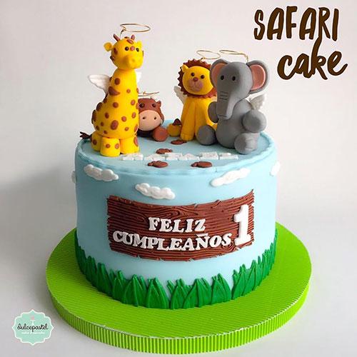 torta safari medellin dulcepastel