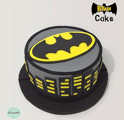 torta batman colombia dulcepastel