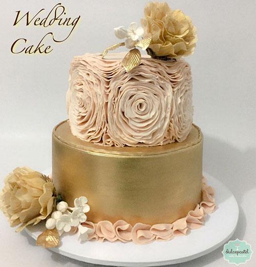 bella torta bodas medellin dulcepastel