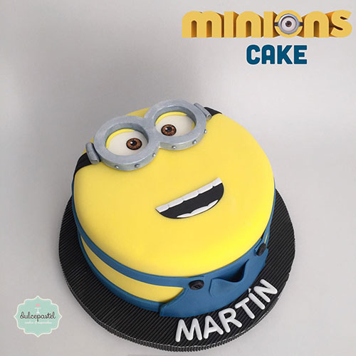 torta minions medellin dulcepastel