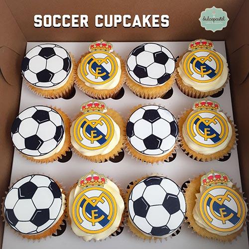 cupcakes real madrid dulcepastel