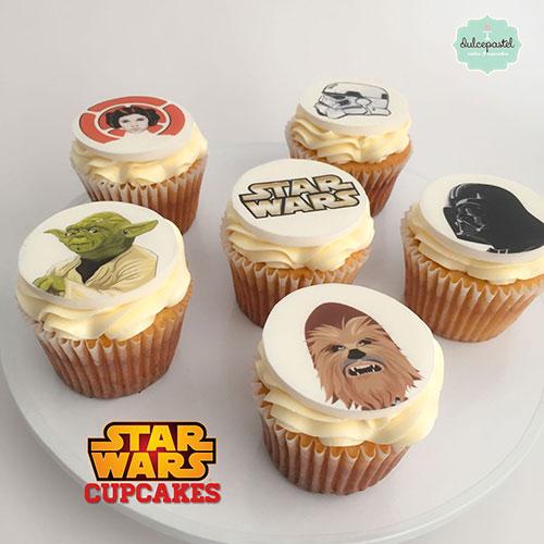 cupcakes star wars medellin dulcepastel