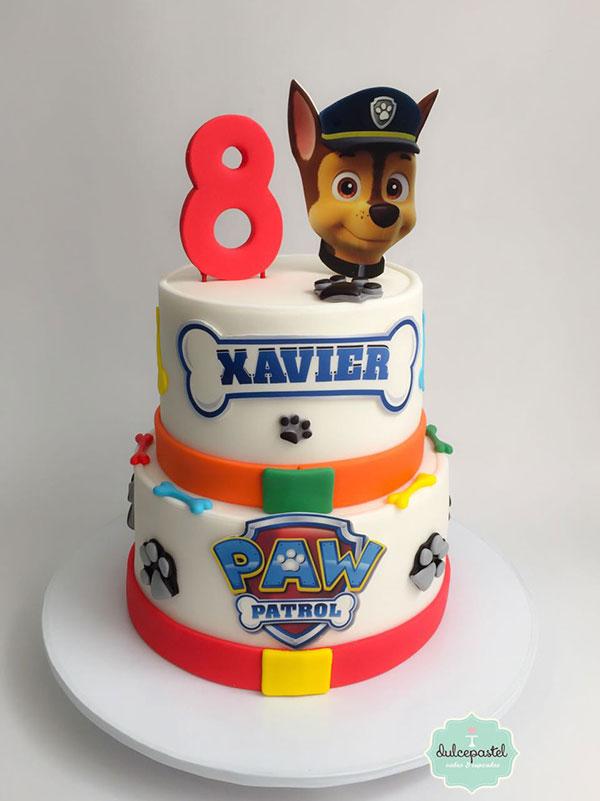 torta patrulla canina medellin dulcepastel