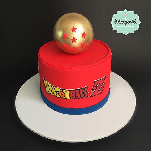 torta dragon ball medellin dulcepastel