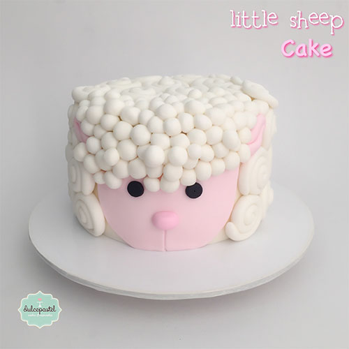torta ovejita medellin dulcepastel