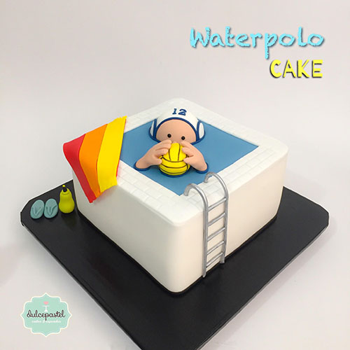 torta water polo medellin dulcepastel