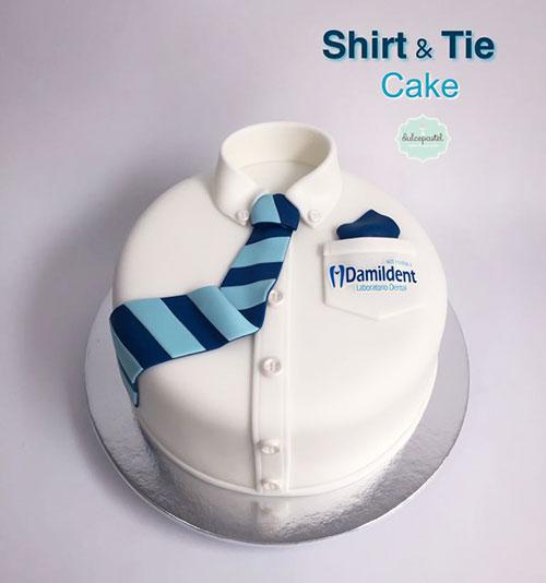 torta camisa medellin dulcepastel