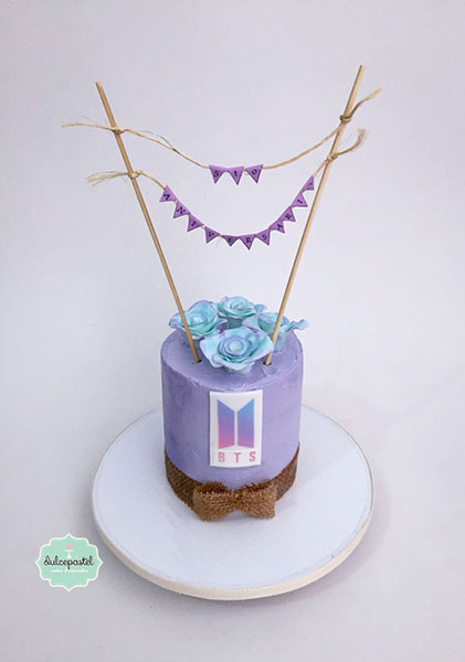 torta bts medellin dulcepastel