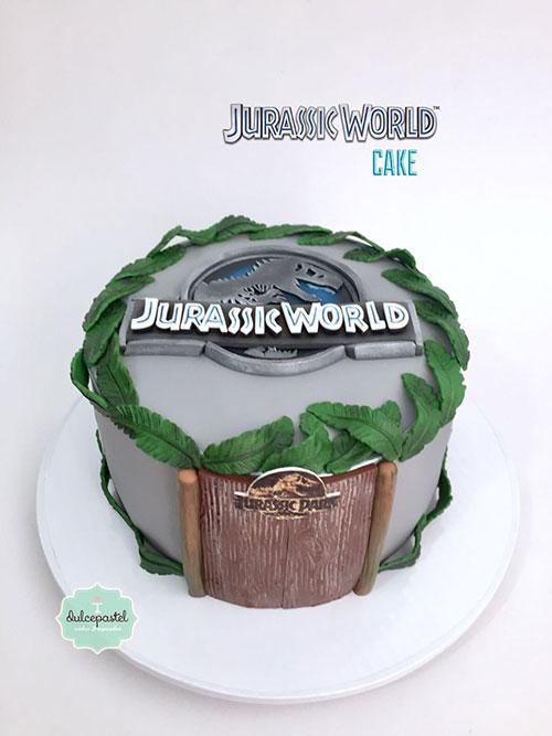 torta parque jurasico medellin dulcepastel