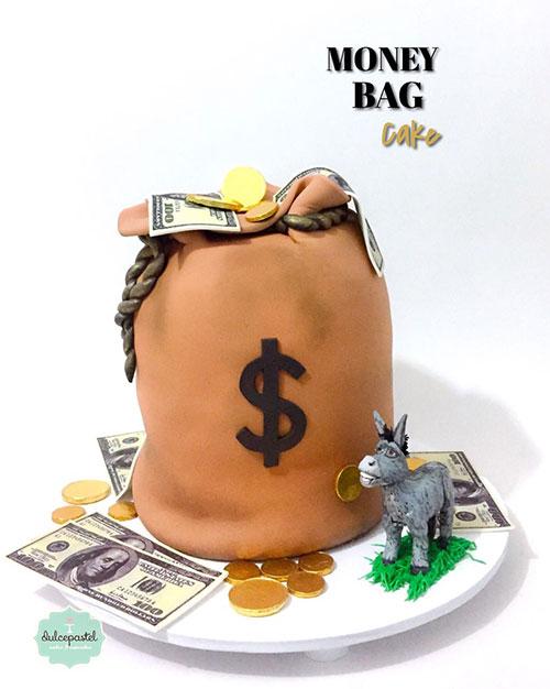 torta dinero medellin dulcepastel