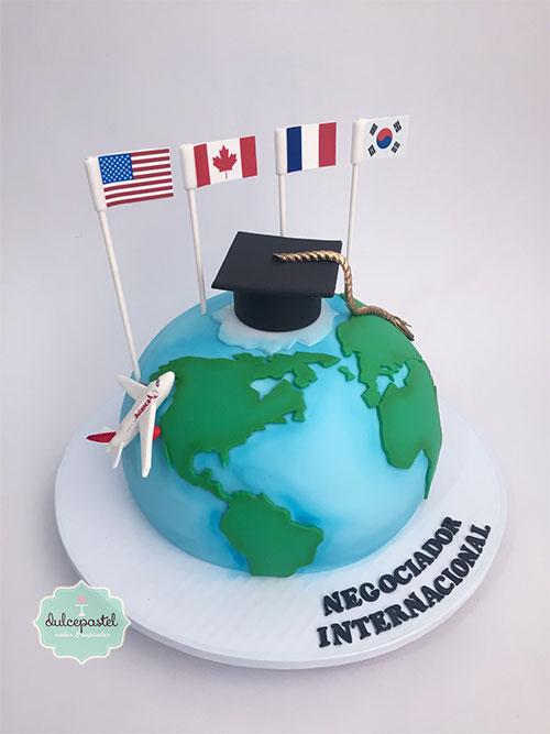 torta grados negociador internacional medellin dulcepastel
