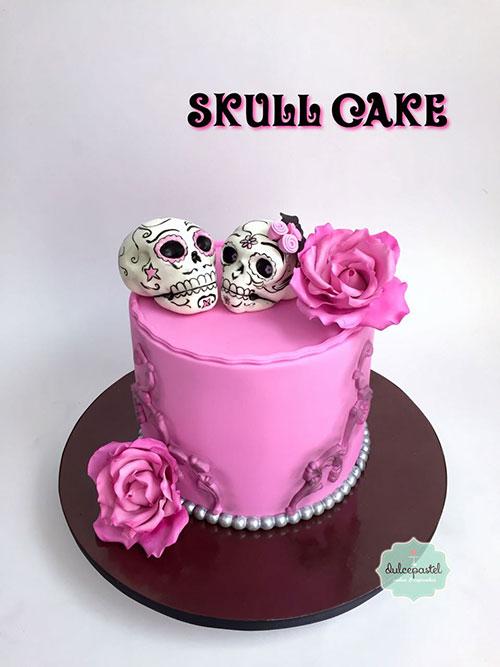 torta calaveras medellin dulcepastel