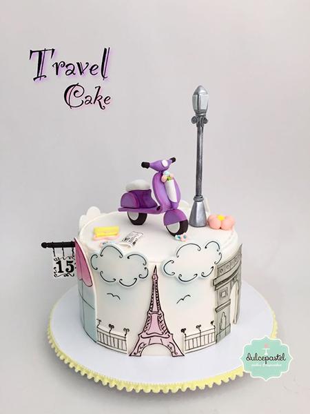 paris inspired cake medellin dulcepastel