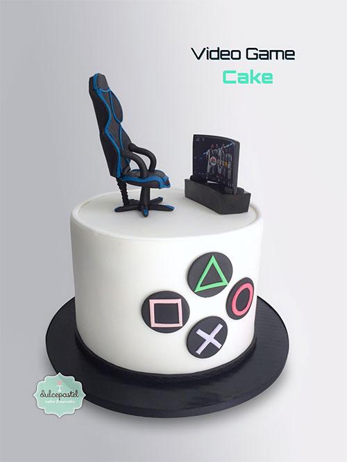 torta videojuegos medellín