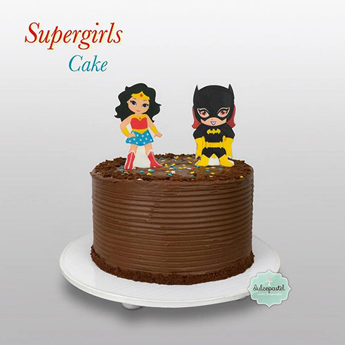 torta chocolate supergirls