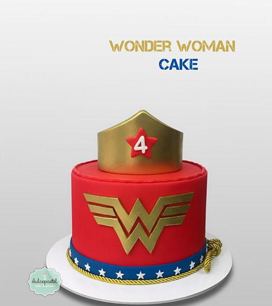 torta-mujer-maravilla-medellín-dulcepastel