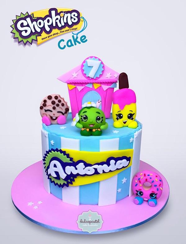 torta shopkins medellin dulcepastel