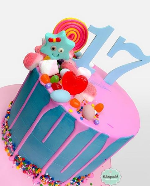torta drip medellin dulcepastel