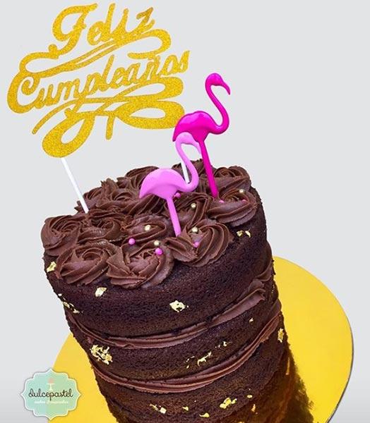 torta flamingos medellin dulcepastel