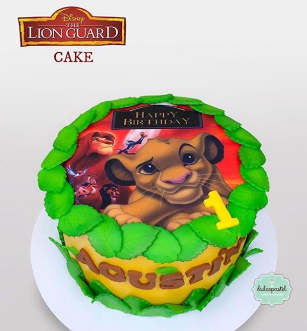 torta lion guard medellin dulcepastel