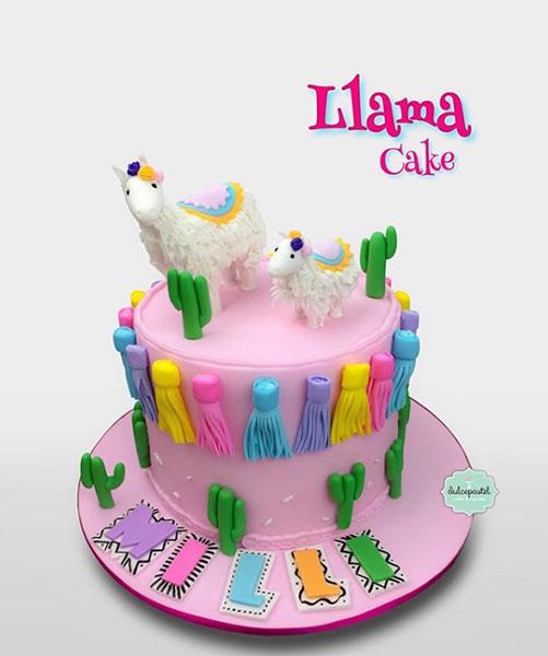 torta llama medellin dulcepastel
