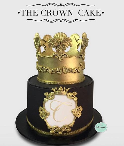 torta corona medellín dulcepastel.com