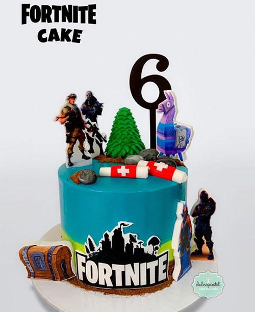 torta fornite medellín dulcepastel.com