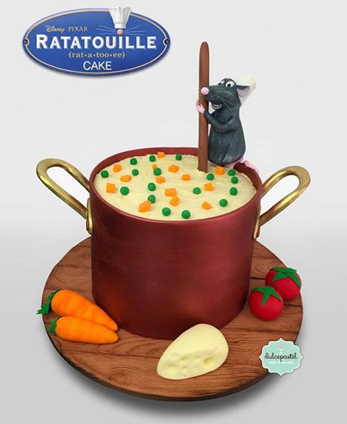 torta ratatouille medellín dulcepastel
