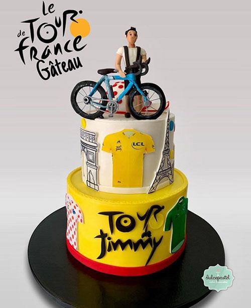 torta ciclismo medellin dulcepastel