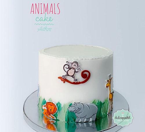 torta animales medellin dulcepastel