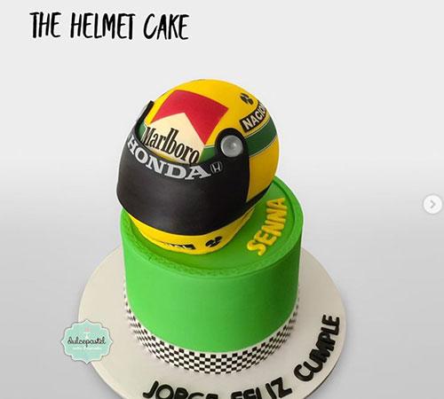 Torta Ayrton Senna medellin dulcepastel
