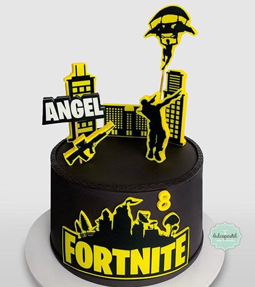 torta fortnite medellin dulcepastel