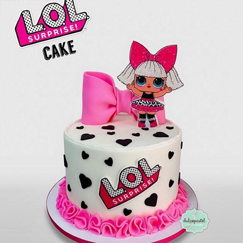 torta muñecas lol medellin dulcepastel