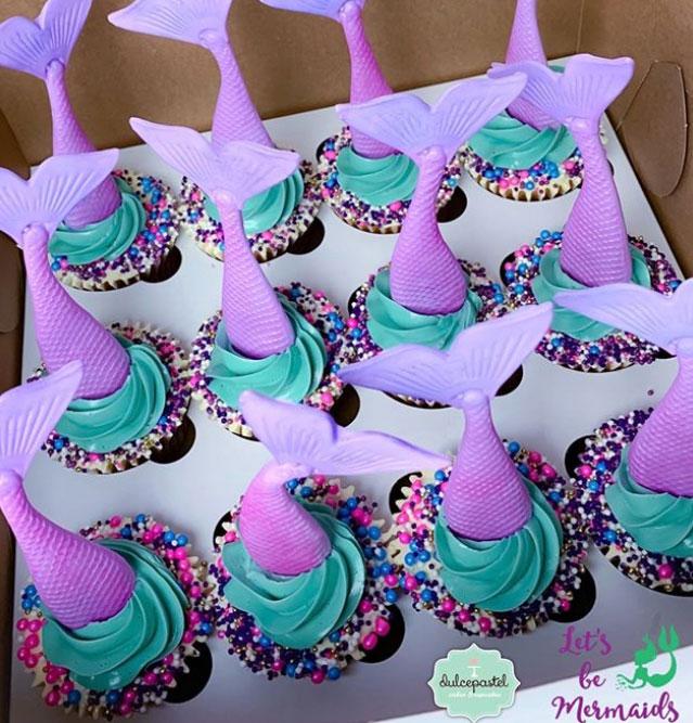 los mejores cupcakes de sirena en medellin