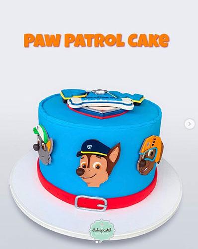 la mejor torta de paw patrol en medellin