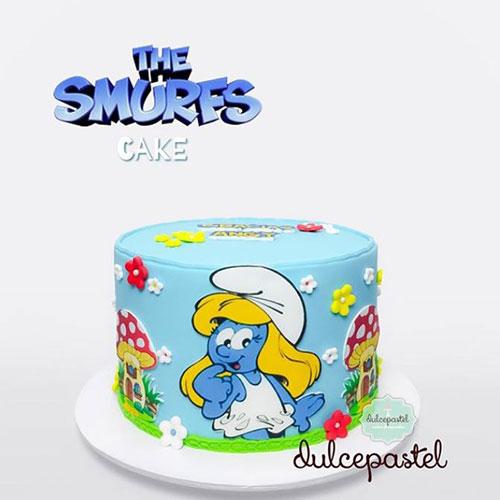 smurfs-cake-delivery-medellin