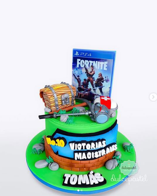 torta fortnite envigado dulcepastel