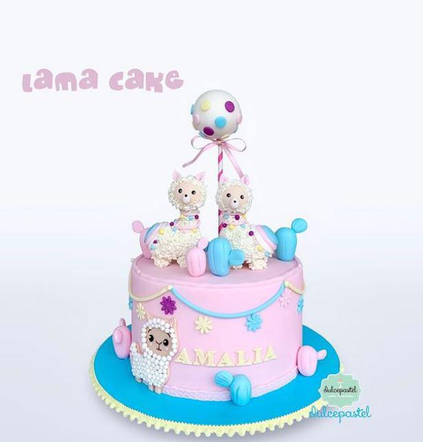 torta llama medellín dulcepastel