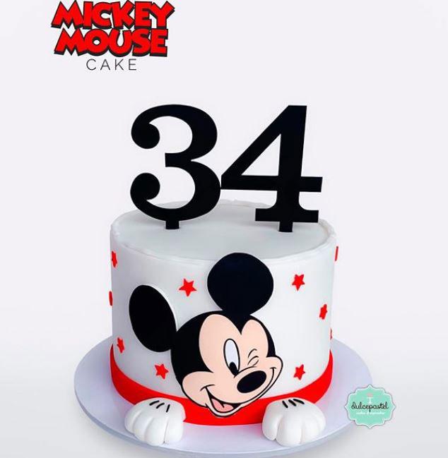 torta mickey mouse medellín dulcepastel