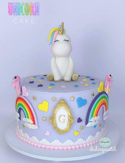 torta unicornio envigado dulcepastel