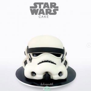 Torta Star Wars Medellin Dulcepastel